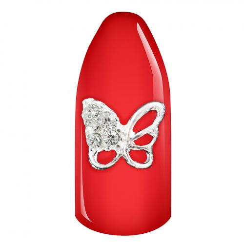 Decoratiune Unghii 3D - Crystal Butterfly - Nail Art -